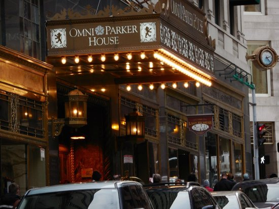 Ruth's Chris Steak House: Omni Parker House up the street