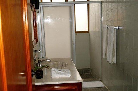 Hotel & Suites Campestre Morelia: BAÑO