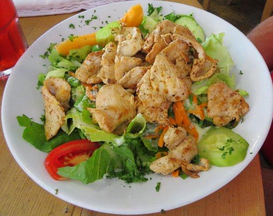 KaffeeKlatsch : Chicken caesar salad