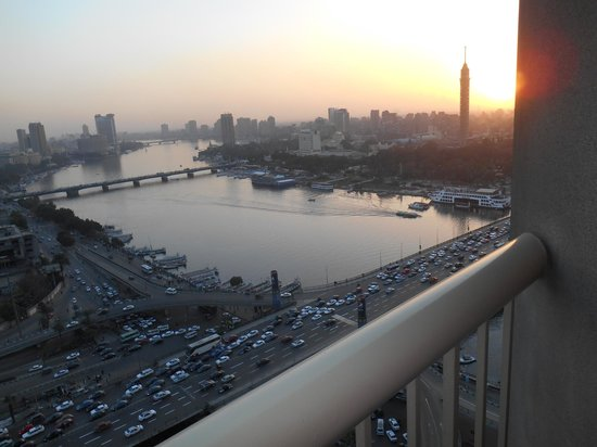 Ramses Hilton: view from room 2009