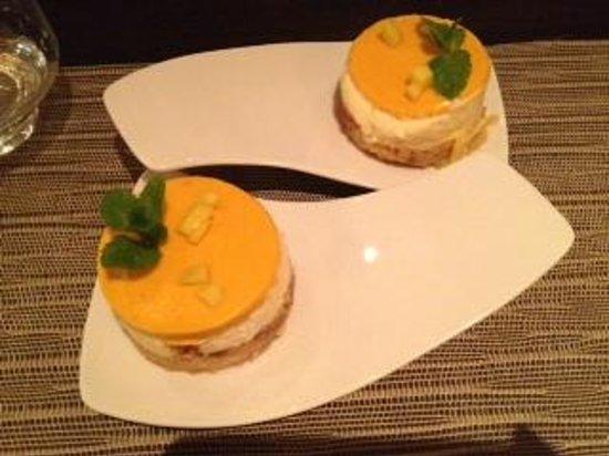Eat Me: Mango cheesecake