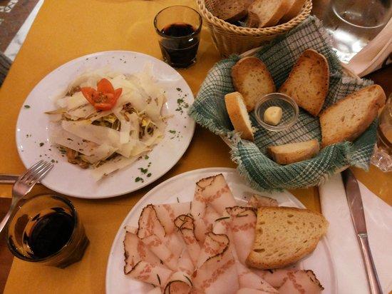 Osteria Baralla : starters