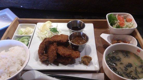 Kinka Izakaya: fried pork set