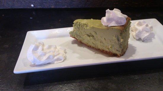 Kinka Izakaya Original: matcha cheesecake