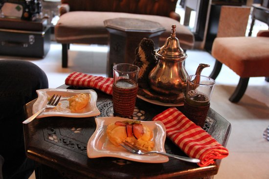 Riad Dar Anika : Afternoon tea and pastry