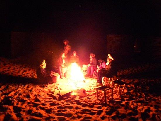 Ksar Bicha: Fuego en el campamento.