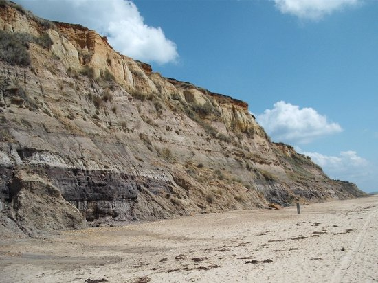 Hengistbury Head: The Head from beach level