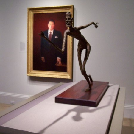 National Portrait Gallery : Presidents Reagan & Bush