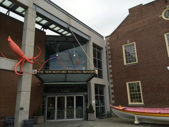 New Bedford Whaling Museum : Entrance