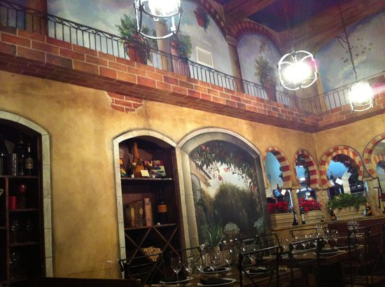 El Carajo : Inside the BP station is a very surprisingly quaint restaurant!