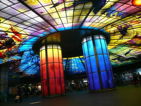 The Dome of Light : なるべく全体を写してみた