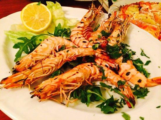 Pizzeria 7 Bello : Grill shrimp