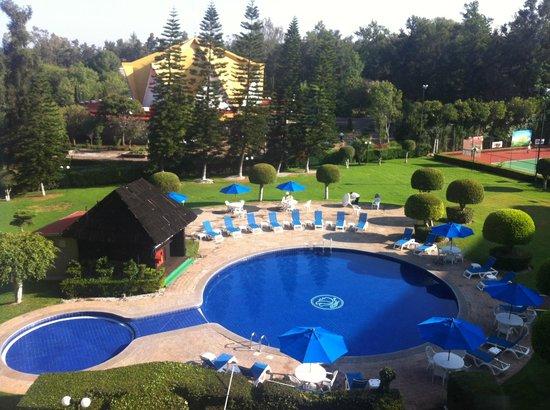 Best Western Plus Gran Hotel Morelia: Alberca/Jardines