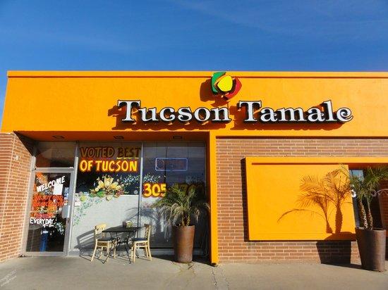 Tucson tamale company 2545 e broadway blvd menu for Mt lemmon cabin rentals pet friendly