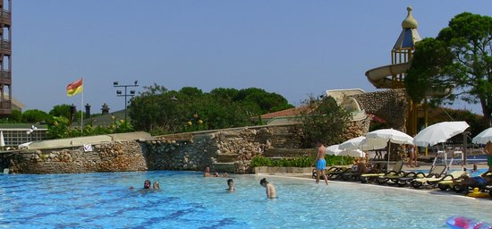 SENTIDO Letoonia Golf Resort: The awesome pool area