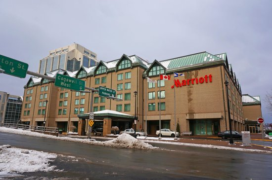 Halifax Marriott Harbourfront Hotel: exterior appearance