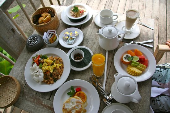 Puri Sebatu Resort : Breakfast!