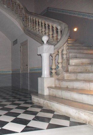 Onix Liceo Hotel: this staircase is the hotel's jewel!