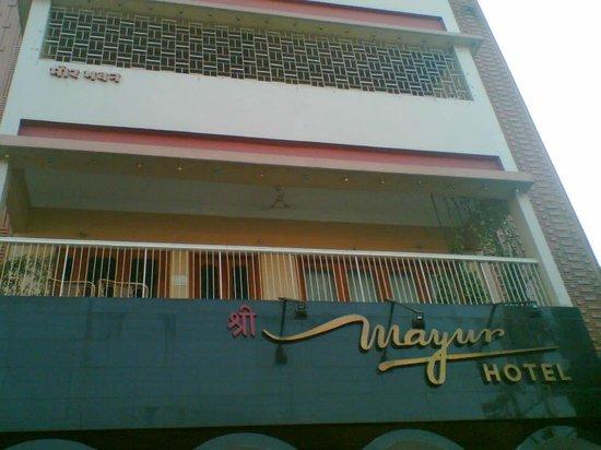 Mayur Hotel : Hotel exterier