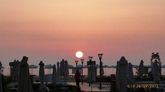 Club Hotel Miramar: Sonnenaufgang