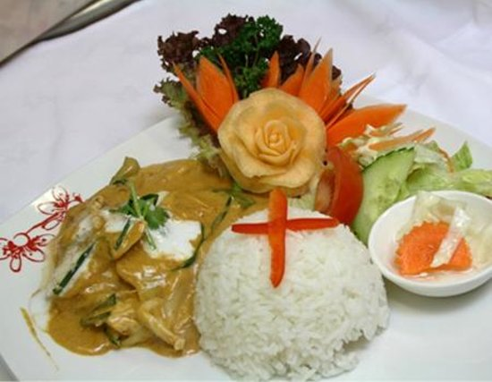 Thai Orchid : Beautiful food