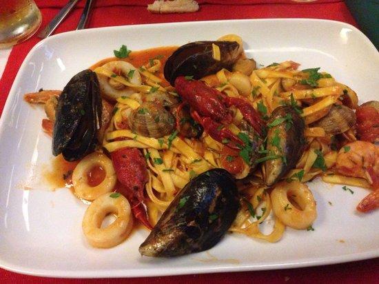 Buon Italia: Sea food Foccacini