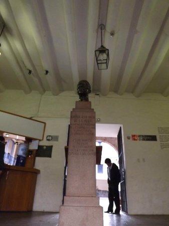 Casa Garcilaso : Ingreso al Museo.
