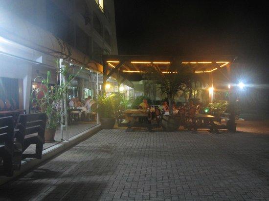 The Stone Restaurant: The Stone patio