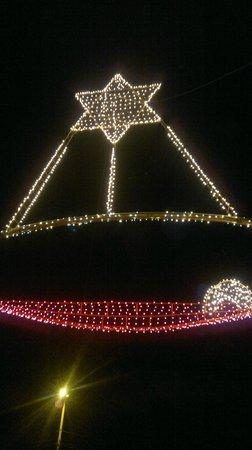 El Panecillo: Estrella de navidad