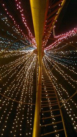 Luces de navidad en el panecillo