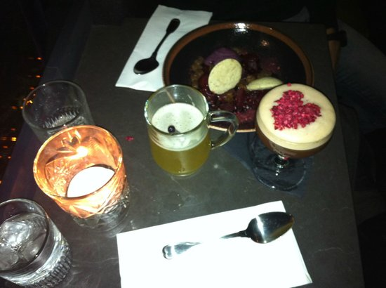 Candeur Dessert & Cocktail Bar : Dessert and Cocktails