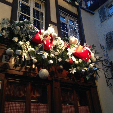 """Weihnachtsdekoration vom """"Chez Yvonne"""""""