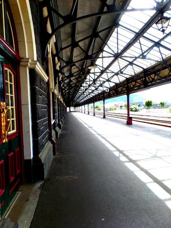 Headfirst Travel - Day Tours: Dunedin Railway Station Platform