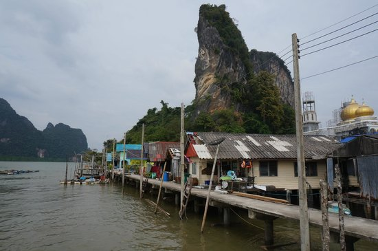 Phuket Sail Tours: the village on stilts