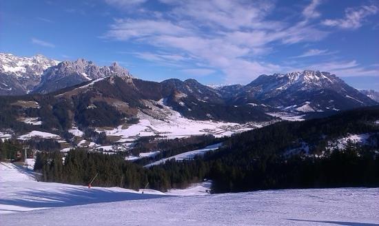 Austria Trend Hotel Alpine Resort Fieberbrunn: Austrian Alps  - view from Fieberbrunn slopes