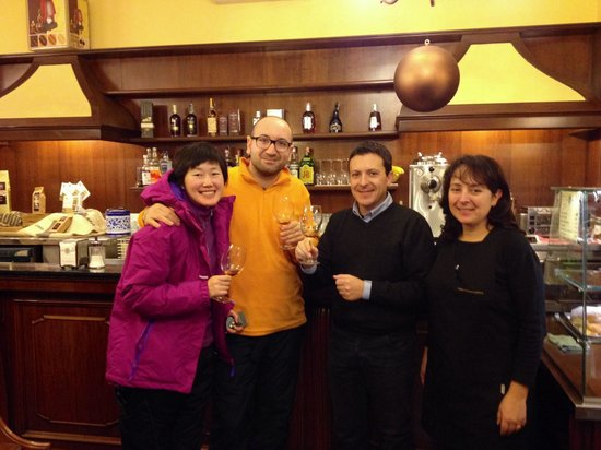 Rossi : Felice Miluzzi ha scelto CAFFÈ FARAGLIA BARRIQUE, caffè Vincitore International Coffee Tasting 2