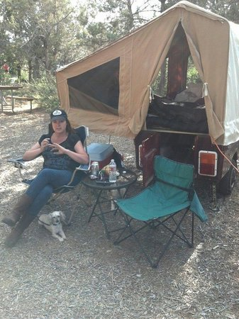 Durango KOA: Is it camping if you can surf the internet with your phone?!?