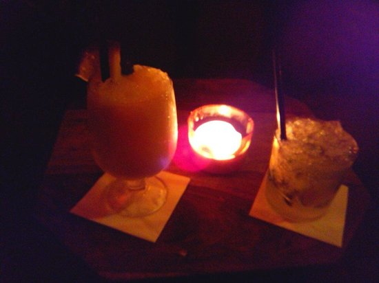 Areia Chill Out : Piña colada y mojito