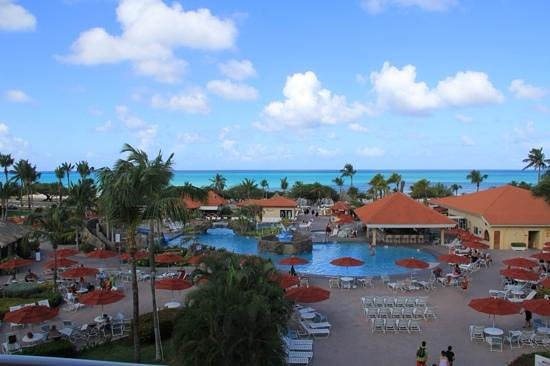 La Cabana Beach Resort & Casino : View from our room