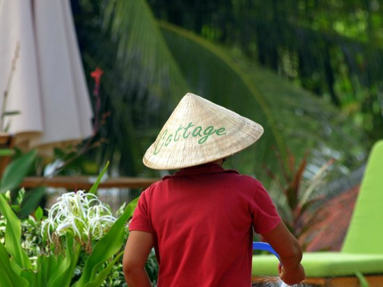 Cassia Cottage : Great hat