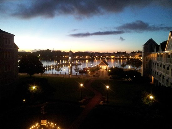Disney's Yacht Club Resort : View from our room