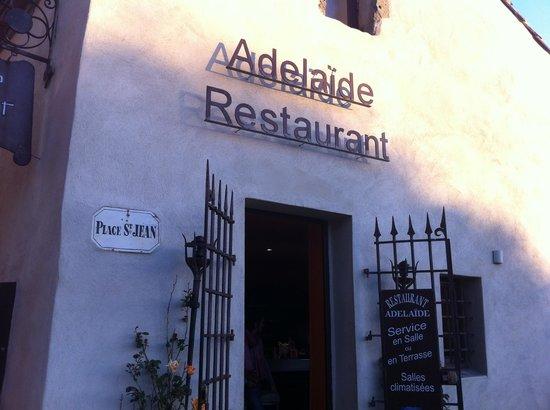Restaurant Adelaide : ingresso