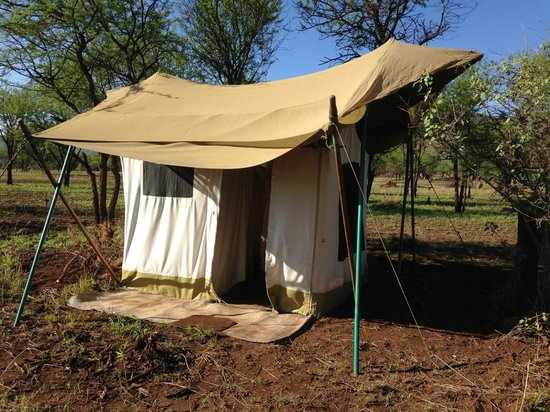 andBeyond Serengeti Under Canvas : Restroom