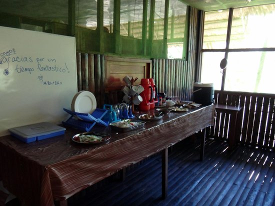 Otorongo Expeditions Jungle Lodge: Dinning room