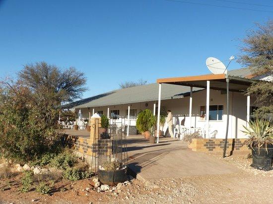Kalahari Trails: Front entrance