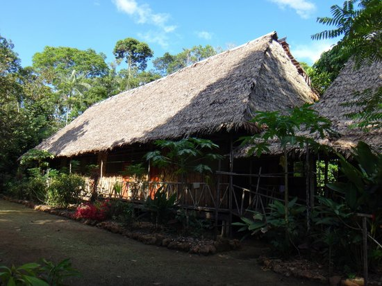 Otorongo Expeditions Jungle Lodge : Main building