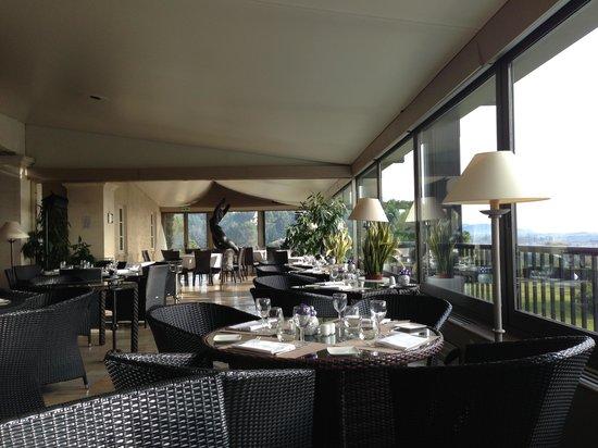 Le Mas d'Artigny : Ресторан