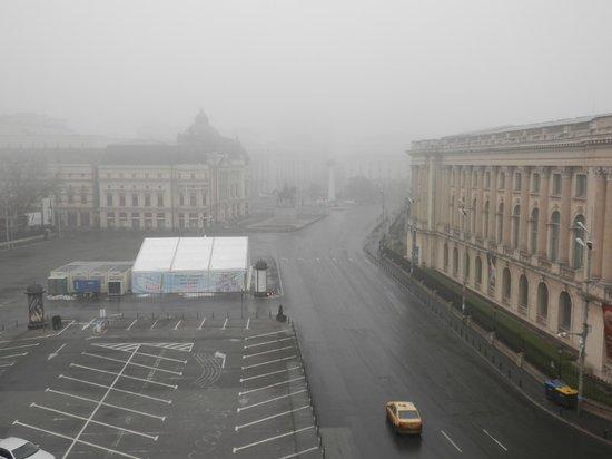 Athenee Palace Hilton Bucharest: Θέα από το δωμάτιο