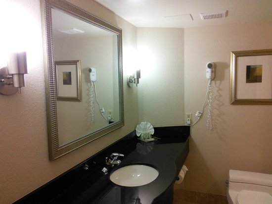 Sawgrass Grand Hotel : Clean and large bathroom