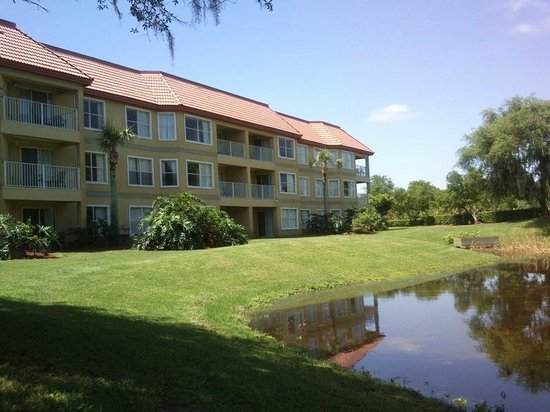 Parc Corniche Condominium Resort Hotel : Parte de trás do meu bloco..